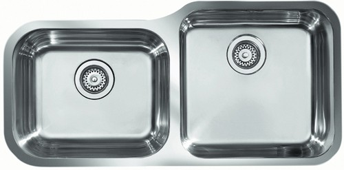 Rangemaster Atlantic 2.0B Undermount Kitchen Sink - G66544