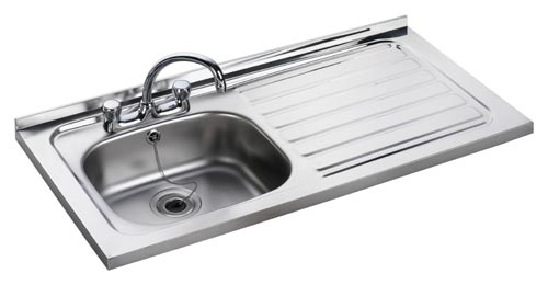 Leisure Sink Contract  1.0B LHD Square Front Sink - G66553