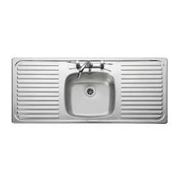 Leisure Sink Linear 1.0B Double Drainer Kitchen Sink -G66976