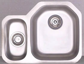 Astracast Sink Echo D1 1.5B Left Handed Kitchen Sink - DISCONTINUED - G70249
