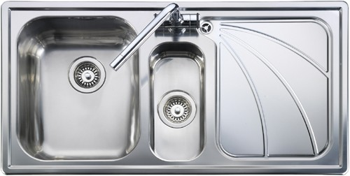 Rangemaster Chicago 1.5B Right Hand Kichen Sink - G70255 - DISCONTINUED