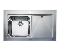 Rangemaster Mezzo 1.0B Stainless Steel Kitchen Sink - G70263