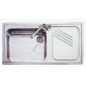 Leisure Sink Proline 1.0B Right Hand Kitchen Sink(SS)-G72970