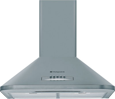HE63 60cm Chimney Hood in White DISCONTINUED