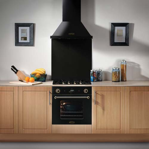 Built-in Rangemaster 60 Hood - Stainlesss Steel No Rail