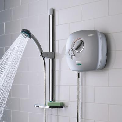 bristan bristan electric shower 8 5kw matt chrome es85 c. Black Bedroom Furniture Sets. Home Design Ideas