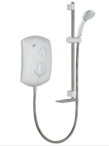 Mira Jump 8.5kW Electric Shower - White/Chrome