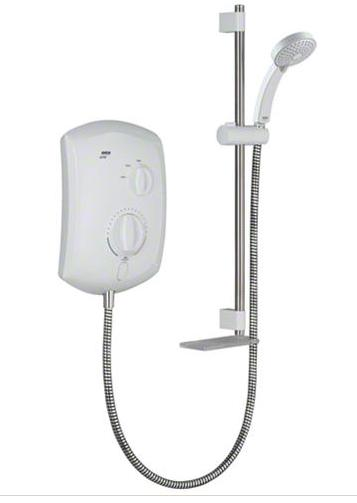 Mira Jump 9.5kW Electric Shower - White/Chrome