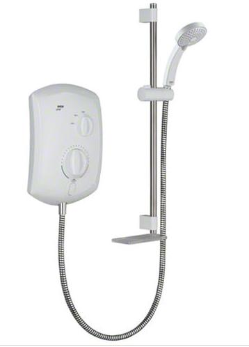 Mira Jump 10.8kW Electric Shower - White/Chrome
