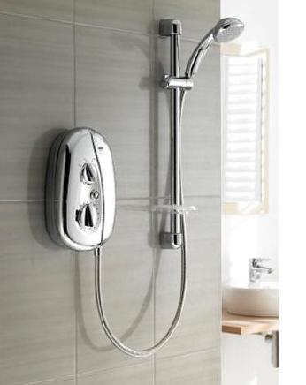 Mira Vie 9.5kW Electric Shower - Chrome - DISCONTINUED