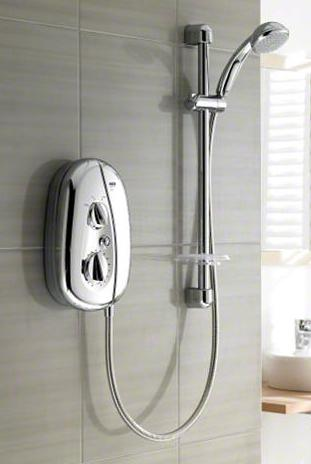 Mira Vie 10.8kW Electric Shower - Chrome - DISCONTINUED