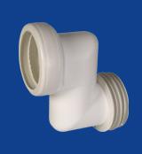 Multikwik 100mm Offset WC Connector - MK0100 - Supremeplumb com