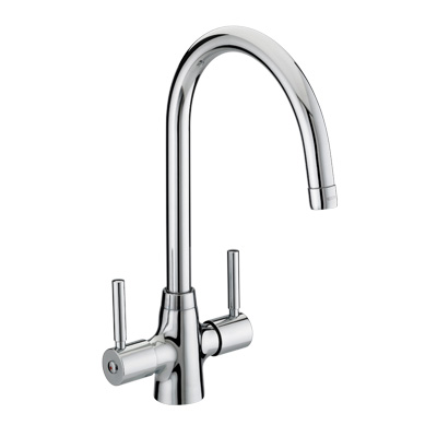 Bristan Monza Monobloc Sink Mixer Easy Fit Chrome Plated - MZ EF SNK C - MZEFSNKC