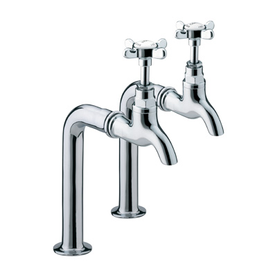 Bristan 1901 Bib Taps Chrome Plated - N BIB C - NBIBC