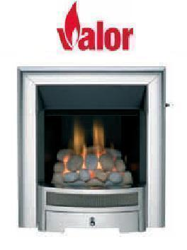 Valor Obsession Slimline Inset Gas Fire - DISCONTINUED - Chrome - 109881CP