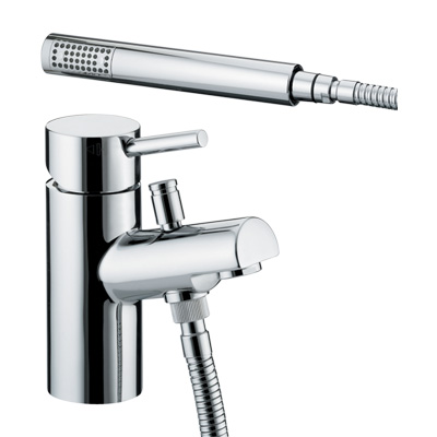 Bristan Prism One Hole Bath Shower Mixer - PM 1HBSM C - PM1HBSMC