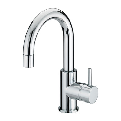 Bristan Prism Side Action Basin Mixer with Pop-Up Waste - PM SABAS C - PMSABASC