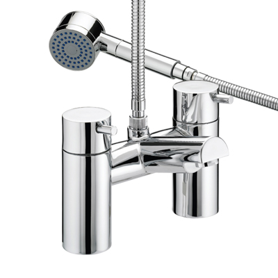 Bristan Prism Thermostatic Bath Shower Mixer - PM THBSM C - PMTHBSMC - DISCONTINUED