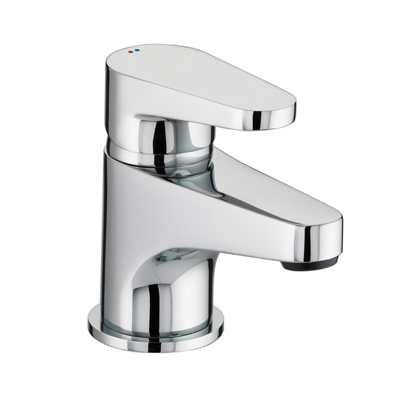 Bristan Quest Basin Mixer With Clicker Waste - QST BAS C - QSTBASC