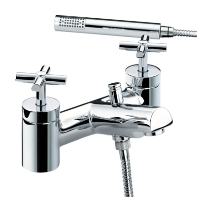 Bristan Quadrant Bath Shower Mixer - QT BSM C - QTBSMC - DISCONTINUED