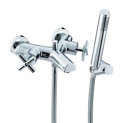 Bristan Quadrant Wall Mounted Bath Shower Mixer - QT WMBSM C - QTWMBSMC - DISCONTINUED