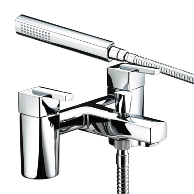 Bristan Qube Bath Shower Mixer - QU BSM C - QUBSMC