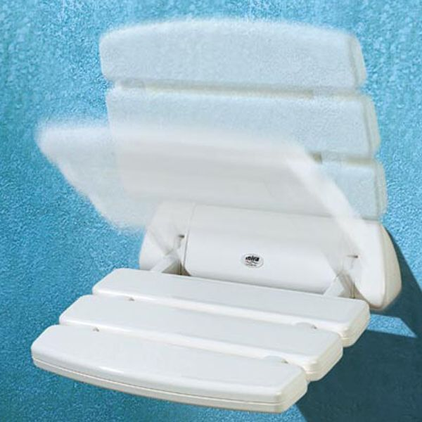 Mira Folding Shower Seat White