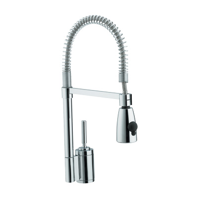 Bristan Target Monobloc Sink Mixer with Pull Out Spray - TG SNK C - TGSNKC