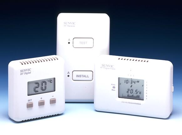 Sunvic RF Digital Room Thermostat - TLXRFD DISCONTINUED - REPLACED BY TLX1010