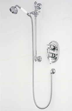 Trevi Traditional Thermostatic - Chrome