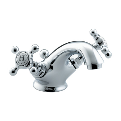 Bristan Trinity Basin Mixer with Pop-Up Waste - TY BAS C - TYBASC