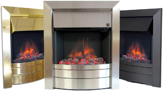 FLAVEL Essence (Electric Fire) - DISCONTINUED - Black - 143870BK