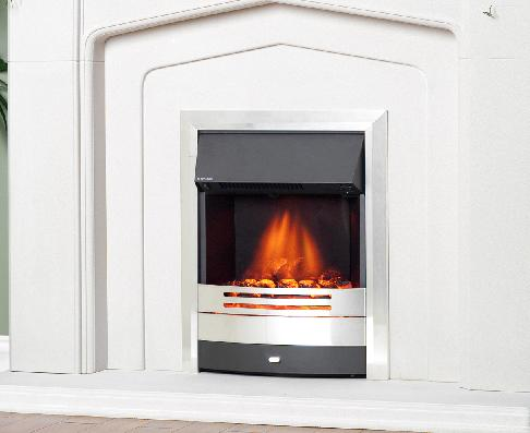 FLAVEL Prominence (Electric Fire) - Silver/Black  - 143871SB