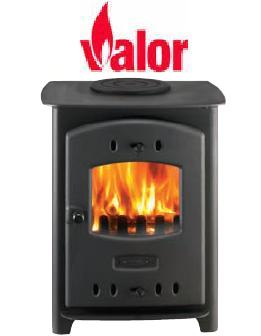 Valor Willow Solid Fuel Stove - 109961 - DISCONTINUED