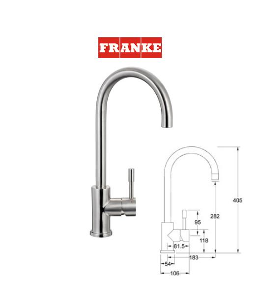 Supreme plumbing electrical supplies for Robinet cuisine franke