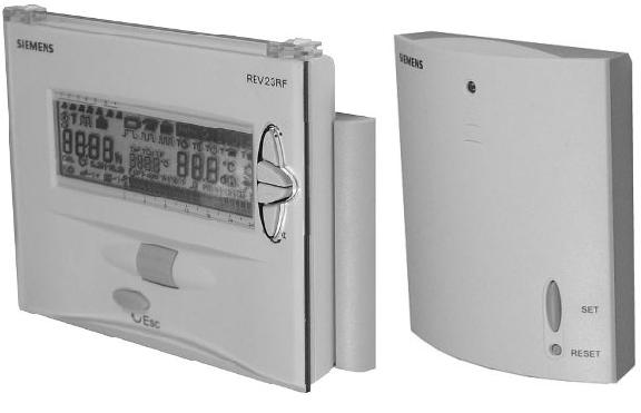 Siemens Room Thermostat - Raa20 - Discontinued   Siemens Frost Therm